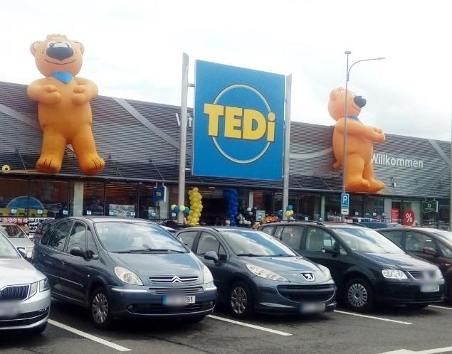 Nově otevřená prodejna TEDi